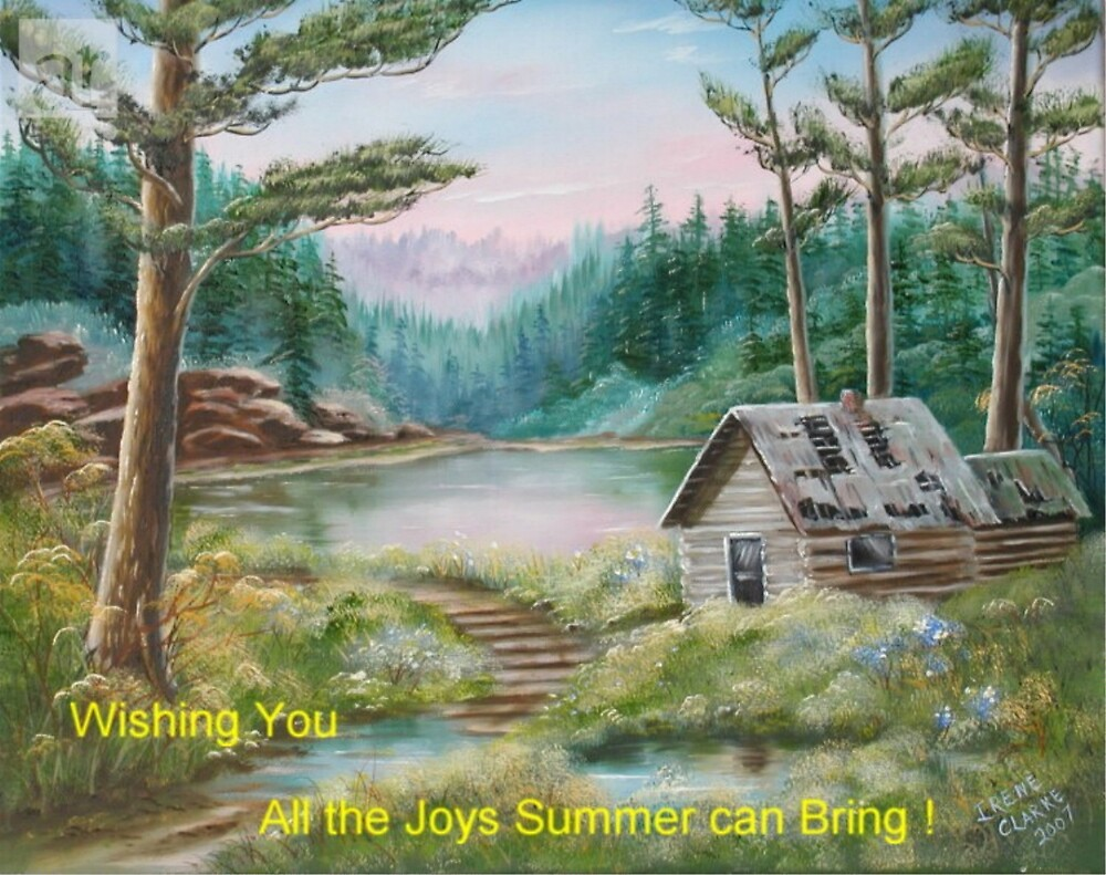 Summer Joys by Irene Clarke