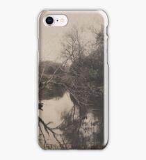 Meandering riverside iPhone Case/Skin