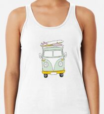 VW Van Racerback Tank Top