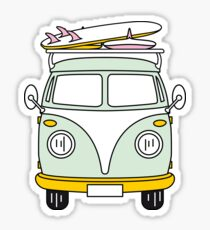 VW Van Sticker