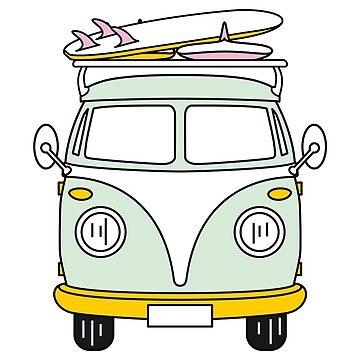 VW Van de mad-designs