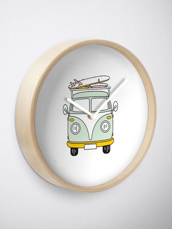 Alternate view of VW Van Clock