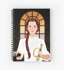 Melanie Spiral Notebook