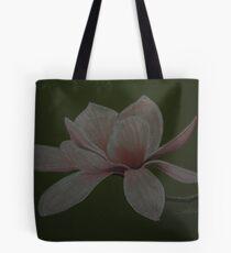 Dessin de fleur de magnolia Tote Bag