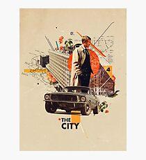 The City 1968 Photographic Print
