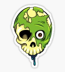Rotting Face Sticker