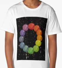 Colorful Deathstar Long T-Shirt