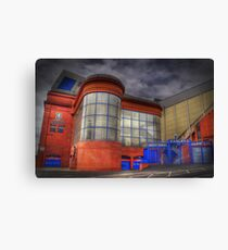 Ibrox Stadium Canvas Print