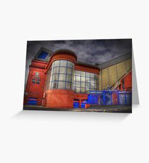 Ibrox Stadium Greeting Card