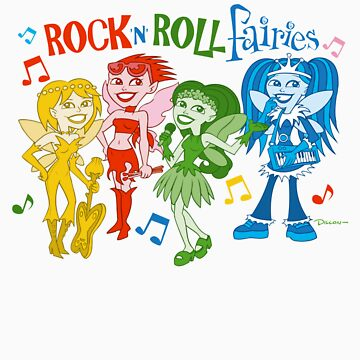 Rock 'n' Roll Fairies, by Dillon Naylor, hosted by JasonTowers