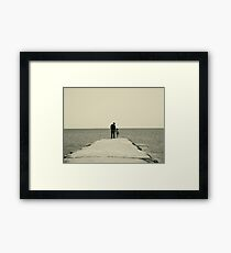 Hold My Hand Framed Print