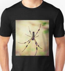 Golden Silk Orb Weaver Spider T-Shirt