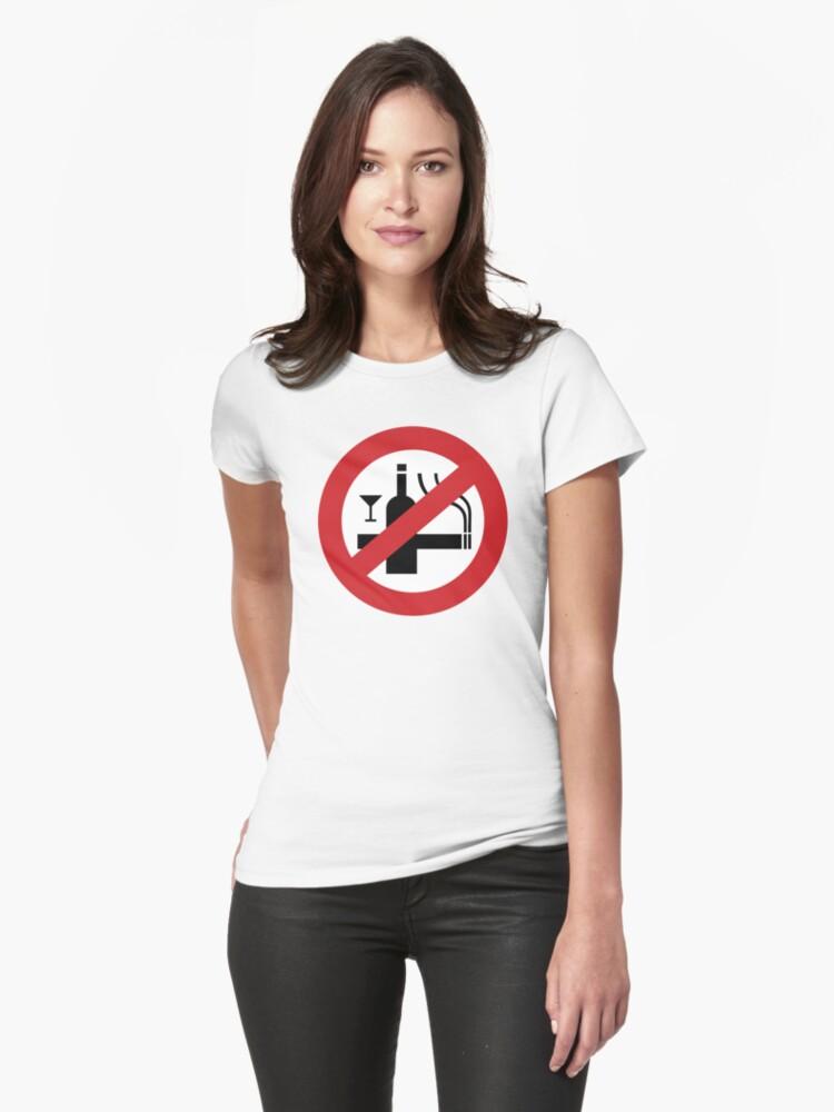 NO Smoking Alcohol Sign by iloveisaan