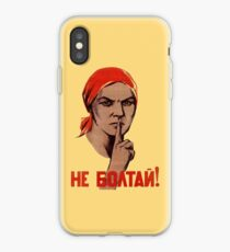 Soviet Treason Poster iPhone Case