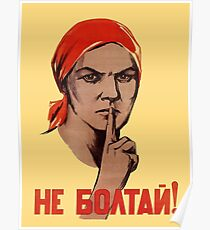 Soviet Treason Poster Poster