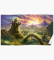 Zelda Breath of the Wild Poster