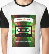 Retro Music Graphic T-Shirt