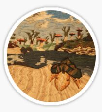 Elder Scrolls Morrowind Mudcrab Embroidery Sticker