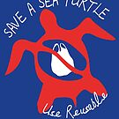Seastainable Turtle - Save a Sea Turtle by BroseBrosPro