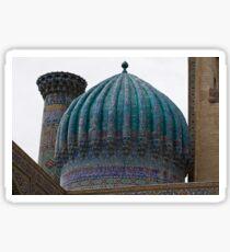Crinkled dome, Registan Sticker