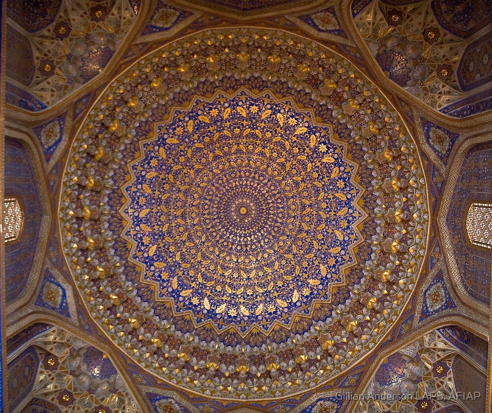 Dome ceiling by Gillian Anderson LAPS, AFIAP