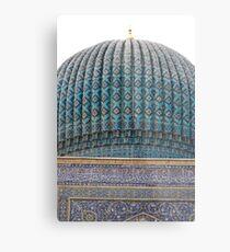 Dome of Amur Timur Mausoleum Metal Print