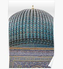 Dome of Amur Timur Mausoleum Poster
