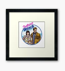 Swango and Wrench Framed Print