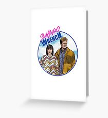 Swango and Wrench Greeting Card