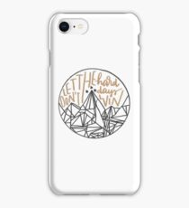 Don't Let The Hard Days Win - ACOMAF iPhone Case/Skin