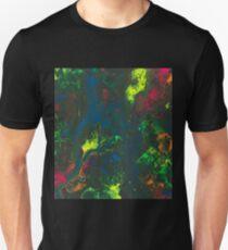 Blacklight Flow - Acrylic Painting Art Unisex T-Shirt
