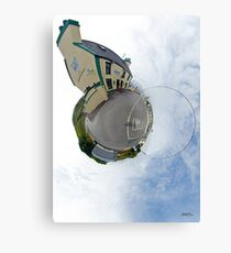 Biddy's House - the Crossroads Pub, Glencolmcille(Sky Out) Metal Print