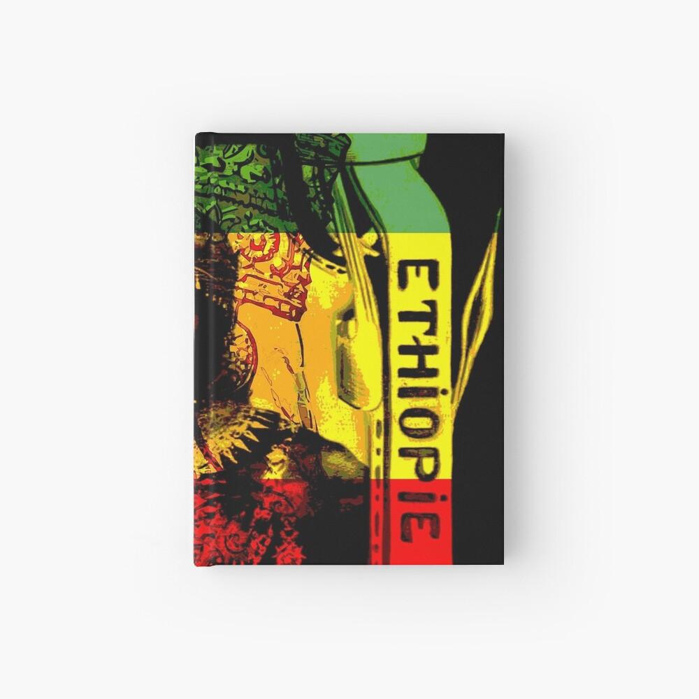 Rasta Haile Selassie Natural Mystic Lion of Judah Hardcover Journal