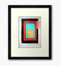 Living Rothko Framed Print