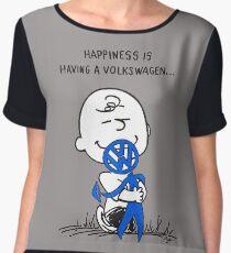 Happiness is ... Women's Chiffon Top