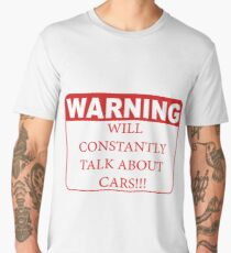warning cars Men's Premium T-Shirt