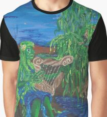Dreaming of Moonlight on Water Graphic T-Shirt
