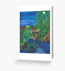 Dreaming of Moonlight on Water Greeting Card
