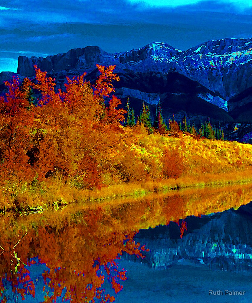 Wabamun Lake by Ruth Palmer