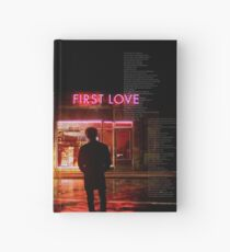 bts - suga first love Hardcover Journal