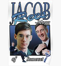 JACOB REES-MOGG VINTAGE T-SHIRT Poster
