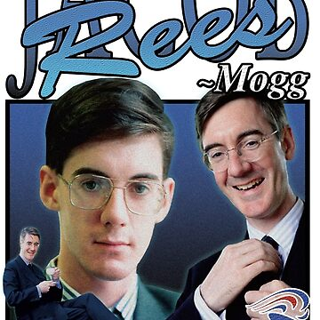 JACOB REES-MOGG VINTAGE T-SHIRT by andrewtodos