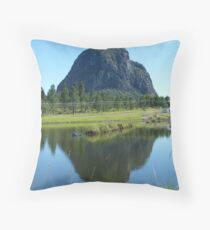 Old man resting  Throw Pillow