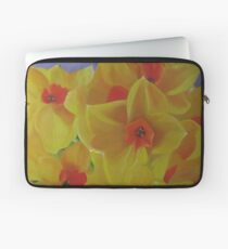 Spring Fever Year-Round, Narcissus Laptop Sleeve
