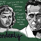 Yonderly - Madeleine Lebeau and Humphrey Bogart by sneercampaign
