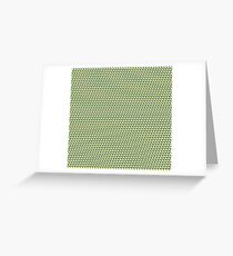 Ducky Tie Pattern Greeting Card