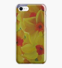 Spring Fever Year-Round, Narcissus iPhone Case/Skin