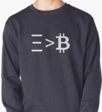 Ξ > B Pullover Sweatshirt