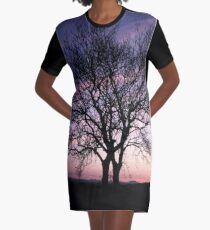 Two Trees embracing Graphic T-Shirt Dress