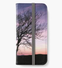 Two Trees embracing iPhone Wallet/Case/Skin